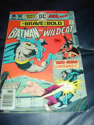 Brave And The Bold #127 June 1976 (FN+) Batman & Wildcat Bronze Age
