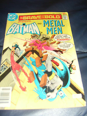 Brave And The Bold #135 July 1977 (FN+) Batman & Metal Men Bronze Age
