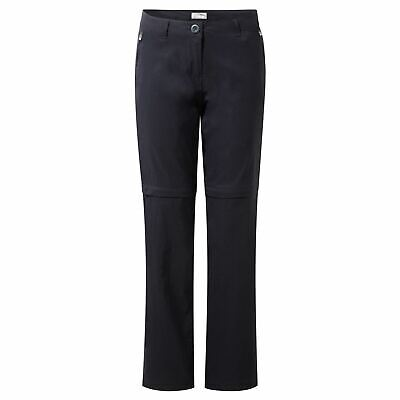 Craghoppers Womens/Ladies Kiwi Pro Stretch Convertible Trousers Walking Zip Off