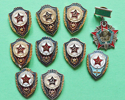Lot of USSR badges. Various honors troops