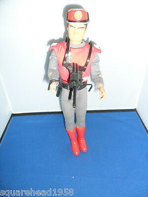 """CAPTAIN SCARLET  12"""" Action Figure 12 Inch Dated 1993"""