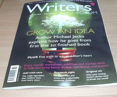 Writers' Forum magazine #184 FEB 2017 Grow an Idea, Research Right, Workshops &