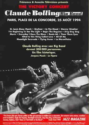 Claude Bolling Big Band - The Victory Concert New Dvd