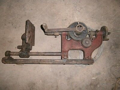 Antique Vintage Dawn Manually Operated Drill Press With Original Chuck