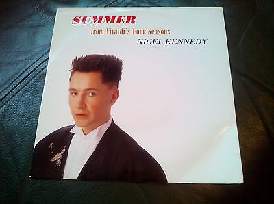 "Nigel Kennedy ‎– Summer - From Vivaldi's Four Seasons - 7"" Vinyl Record Single"