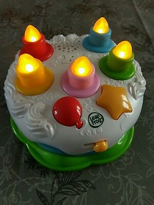 leap frog musical birthday cake