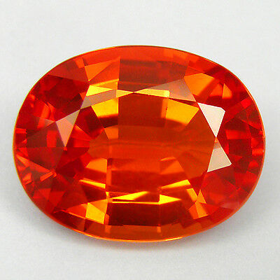 5.05 ct. Majestic Oval Facet Padparadscha Sapphire