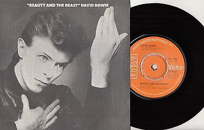 "70s DAVID BOWIE beauty and the beast Original 1977 UK 7"" Vinyl 45 MINT"