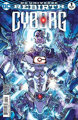CYBORG #1, VARIANT, New, First print, DC REBIRTH (2016)