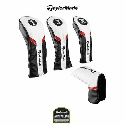 2017 TaylorMade Tour Golf Driver- Fairway Wood - Rescue Wood - Putter Headcovers