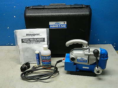 Hougen HMD115 Ultra Low Profile Portable Right Angle Drill w/ Magnetic Base