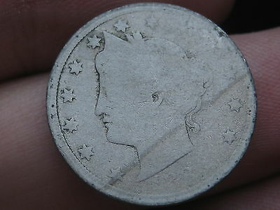 1883 Liberty Head V Nickel- No Cents, Without Cents