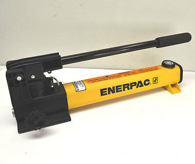 NEW Enerpac P2282 40,000-PSI Hydraulic Hand Pump 60 Cu-In 2-Speed/Stage
