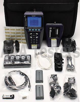 NEW JDSU NT1055 Validator Pro Cu Copper Ethernet Network Cable Certifier NT-1055