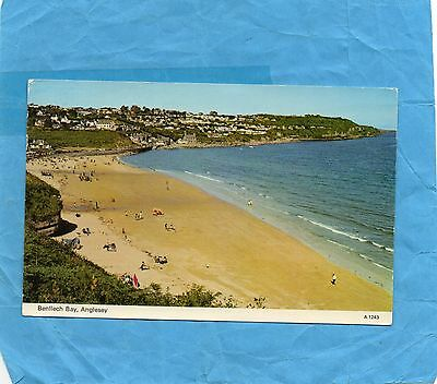 Postcard, Benllech Bay, Anglesey, North Wales, 1979