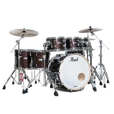 Pearl Masters Maple Complete MCT 7pc Shell Pack - Burnished Bronze Sparkle