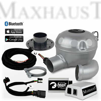 Maxhaust Soundbooster SET mit App-Steuerung Mercedes Benz C217 Active Sound