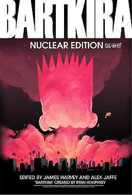 BARTKIRA Nuclear Edition Limited Hardcover Akira Simpsons Otomo Groening New NM