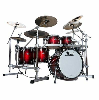 Pearl Reference Pure 5pc Drum Shell Pack - Scarlet Sparkle Burst