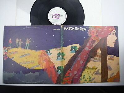 Mr Fox,The Gipsy,Rare original first pressing,acid folk,LP