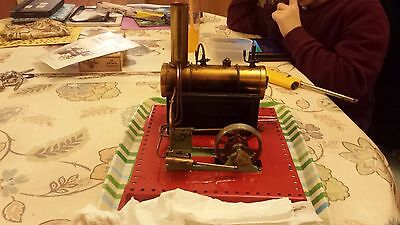 MAMOD LIVE STEAM S.E.3 Static TWIN CYLINDER STEAM ENGINE TESTED Working boxed