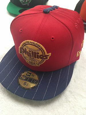 New Era Philadelphia Phillies Snapback 59Fifty Baseball Cap - Size 6 7/8