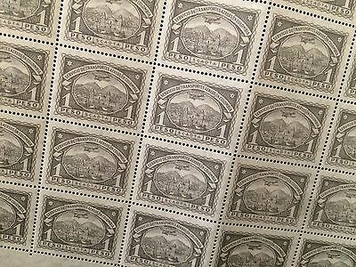 £££ Colombie Colombia Timbre poste aérienne n° 52 - feuille sheet 1923 MNH**