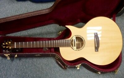 MINT Terry Pack SJRS small jumbo acoustic guitar, solid rosewood, half price!!