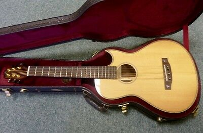 MINT Terry Pack PLRS Parlour guitar, plays awesome, solid rosewood, half price!!