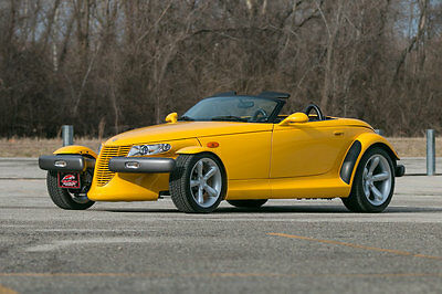 1999 Plymouth Prowler Base Convertible 2-Door 1999 Plymouth Prowler 20K Original Miles Yellow Low Miles