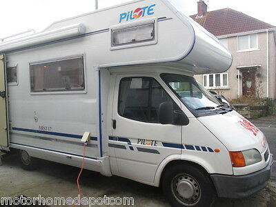 Ford Pilote First 17, Lhd, Seven Berth Motorhome For Sale