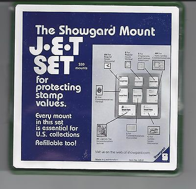 SHOWGARD BLACK JETSET PRECUT 320 MOUNTS - lot 4190