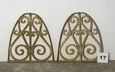 Antique Egyptian Architectural Wrought Iron Panel Grate (IS-017)