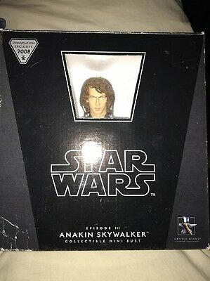 Star Wars Anakin Skywalker Episode 3 Collectible Mini Bust by Gentle Giant