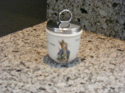 Cuit Oeuf - Egg Coddler - Anglaise - Pierre Lapin - Peter Rabbit - Wedgwood