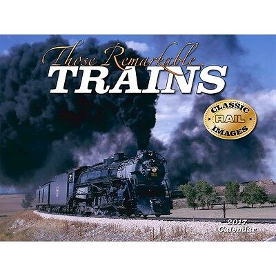 Those Remarkable Trains Wall Calendar