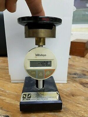 PsI Milutoyo meter for optical lens lab