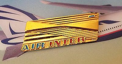 Air Inter Hostess Cabin Crew Insignia Wing French Airlines Airways 1 Dash