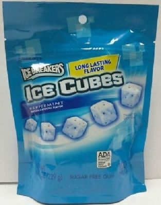 Ice Breakers Ice Cubes Peppermint Sugar Free Gum