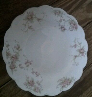 Johnson Bros England Small Plate with Flower Design