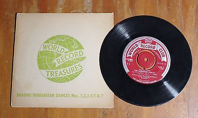"'Brahms Hungarian Dances' OKLAHOMA CITY SYMPHONY ORCHESTRA 7"" vinyl single EP"