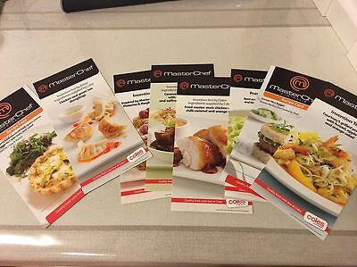 "8 Step by Step MASTER CHEF RECIPE INVENTION TEST CARDS ""COOK LIKE A MASTERCHEF"""