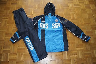 FORWARD Russia National Ski Team Trainingsanzug Outdoor Gr. M wasserdicht NEU
