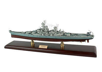 US Navy USS Missouri BB-63 Desk Top Display 1/350 WWII Battleship Ship ES Model