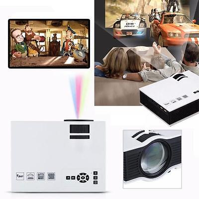 HD 1080P 1000 Lumens LED LCD Home Theater USB TV 3D Business VGA/HDMI Projector