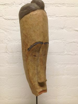 Gabon: Old - Tribal used African Mask from the Fang.