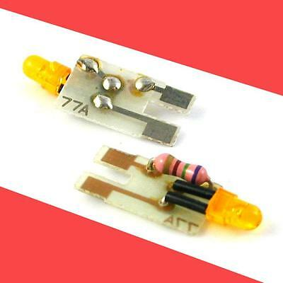 77A Led Amber Early  Lighting Circuits (Pair)  Pcb Kato Atlas N Scale