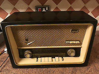 Vintage Valve Radio,Grundig 1099,1950s,Very Good Cosmetic Cond,Abandoned Project