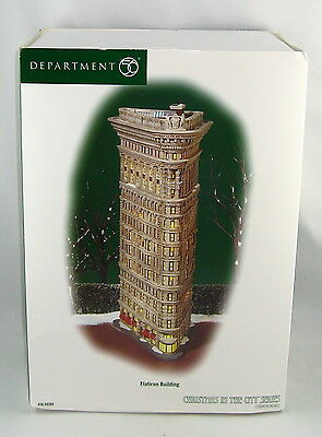 """Department 56 Christmas In The City 59260 """"FLATIRON BUILDING"""" New In Box"""
