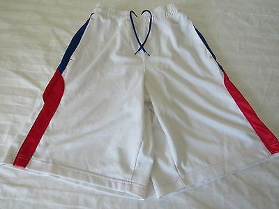 Under Armour Loose Shorts Red White Blue Men's--Size Small